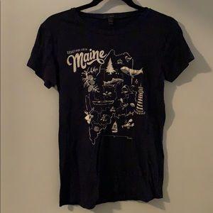 J. Crew Maine T-shirt